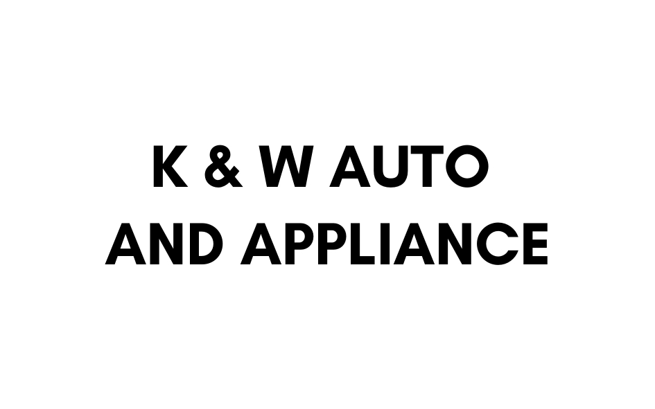 K & W Auto and Appliance